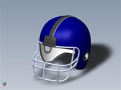 橄榄球头盔
