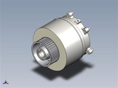 液压联轴和同步滑轮装配