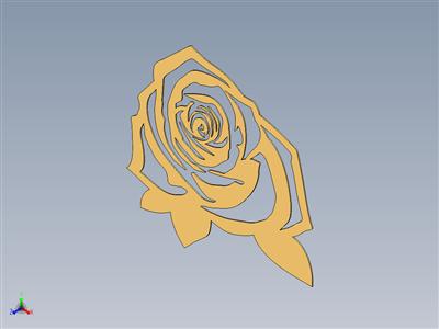 玫瑰激光切割