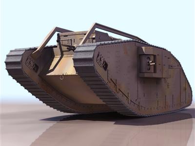 MARK IV坦克内螺纹