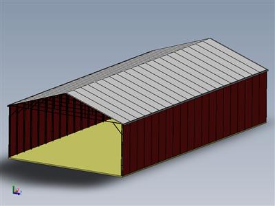 50 x 100 金属钢建筑