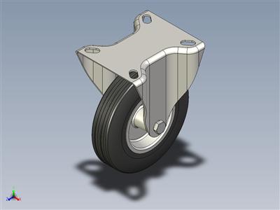 脚轮固定Ø125mm