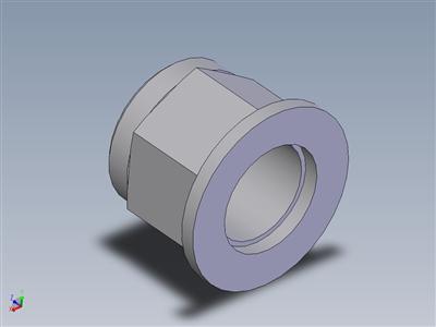 2型非金属嵌件六角锁紧螺母平垫组件M20